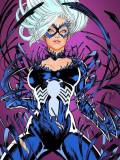 Symbiote Black Cat