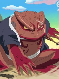 Gamabunta Superhero Database Gamabunta held his own against shukaku, but that was without using any bijuu dama. gamabunta superhero database