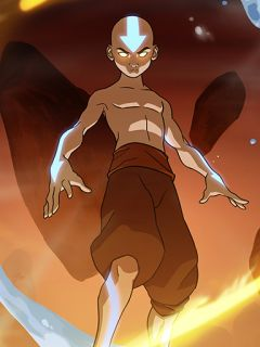 Aang (Avatar State)