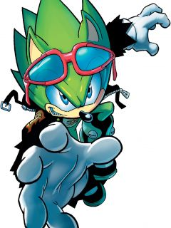 Scourge The Hedgehog (Archie Pre-Genesis Wave)