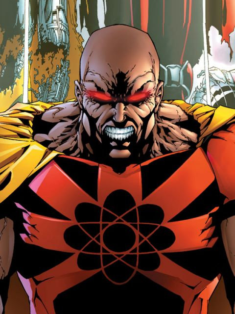 King Hyperion Vs Death Seed Sentry Superhero Database
