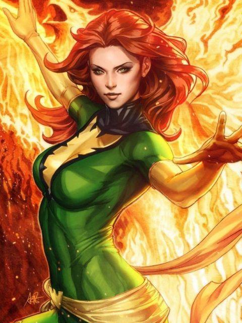 Phoenix Jean Grey Gods Superhero Database