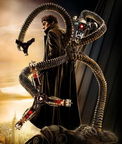 Doctor Octopus' robotic arms