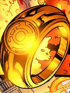 Yellow Power Ring